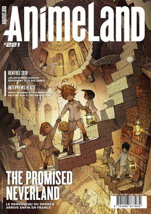 Couverture AnimeLand #221