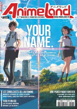 Couverture AnimeLand #213