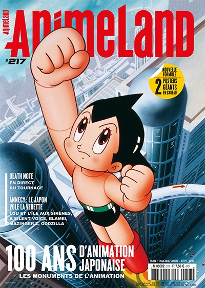 Couverture AnimeLand #217