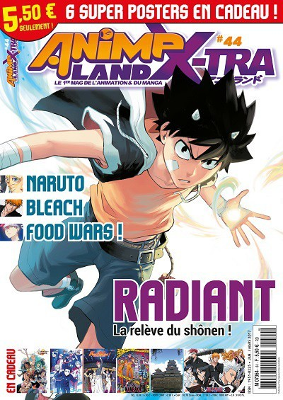 Couverture AnimeLand X-tra #44