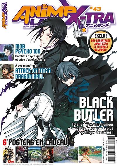 Couverture AnimeLand X-tra #43