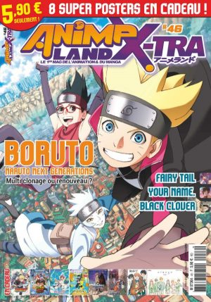 Couverture AnimeLand X-tra #46
