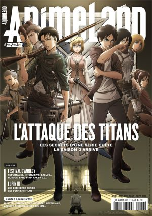 Couverture AnimeLand #223