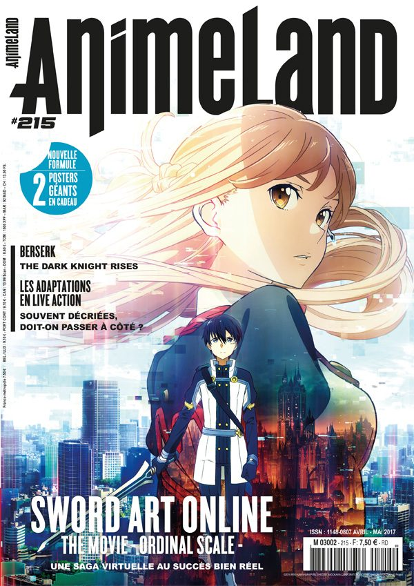 Couverture AnimeLand #215