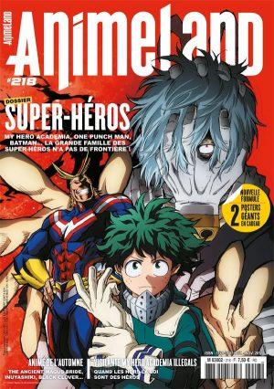 Couverture AnimeLand #218