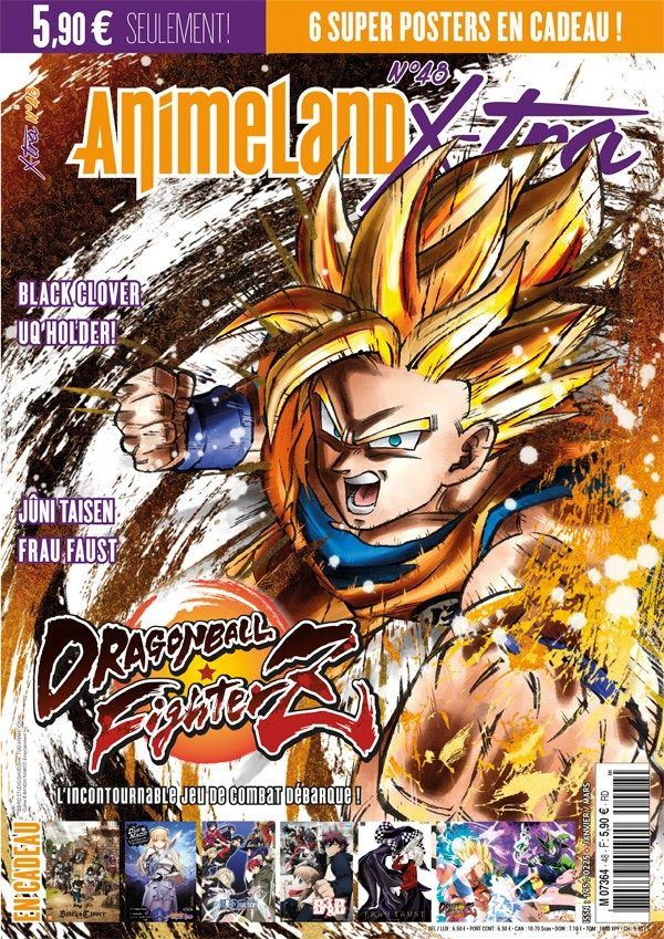 Couverture AnimeLand X-tra #48