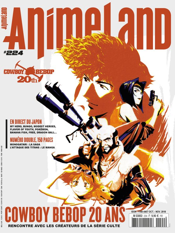 Couverture AnimeLand #224