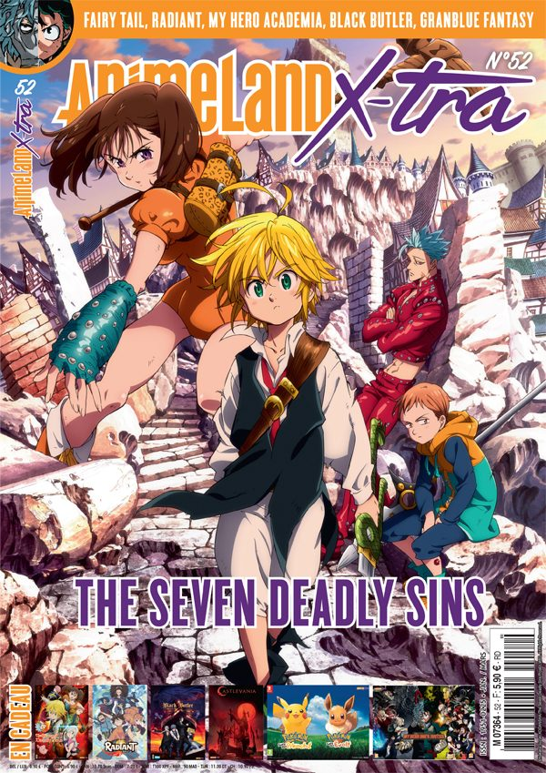Couverture AnimeLand X-tra The Seven Deadly Sins